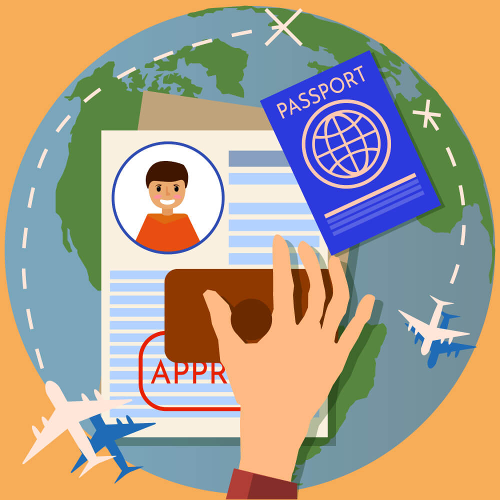 vize işlemleri vizata
